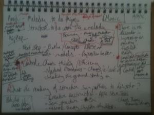 Lecture Notes 16/10/12 Part 1