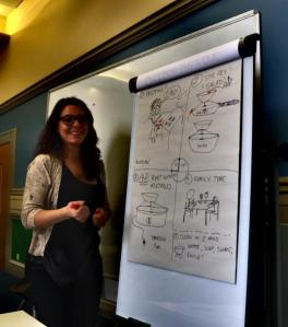 Developing our user scenario with our Personas